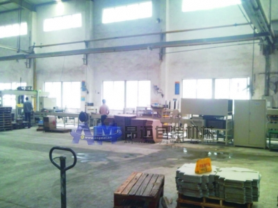 Antique tiles automatic packaging, taping and vertical stacking line